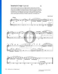Sonatine in C-Dur, Op. 36 Nr. 1