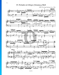 Preludio ed Allegro (Sonata) G Minor, HWV 574