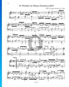 Preludio y Allegro, Sonata en sol menor, HWV 574