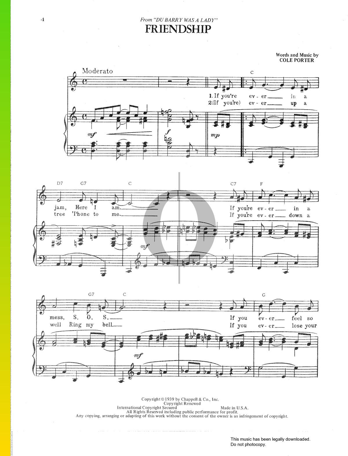 about friendship mp3 music sheet   print and play sheet music  think.scmc.it