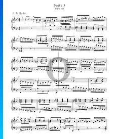 Suite inglesa n.º 3 en sol menor, BWV 808: 1. Preludio