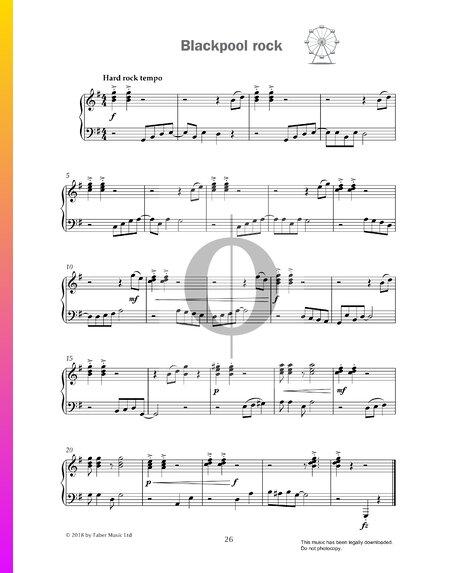 Blackpool Rock Sheet Music