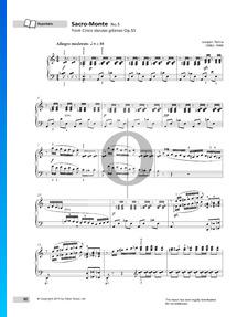 Cinco danzas gitanas Op.55: No. 5 Sacro-Monte