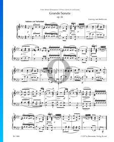 Grande Sonata (''Funeral March''), Op. 26: 1. Andante con Variazioni