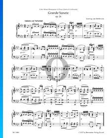 Grande Sonate (''Trauermarsch''), Op. 26: 1. Andante con Variazioni