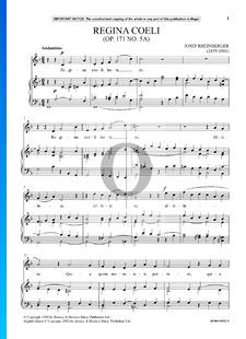Regina Coeli, Op. 171 Nr. 5A