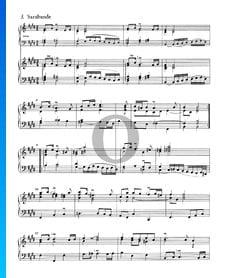 French Suite No. 6 E Major, BWV 817: 4. Sarabande