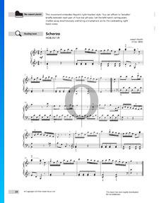 Sonate in F-Dur, XV1/9: 3. Scherzo