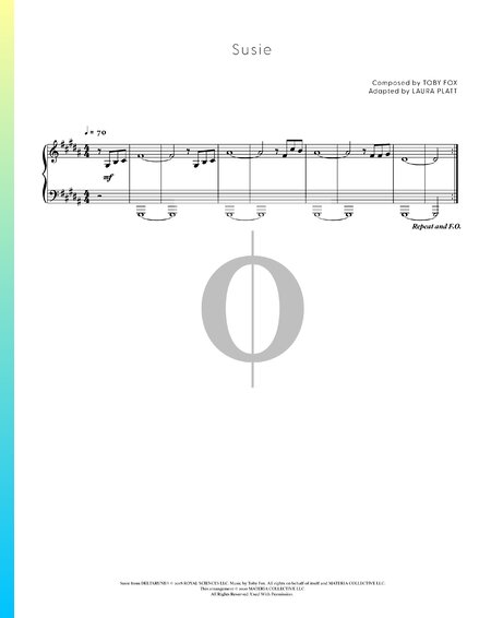 Susie Sheet Music