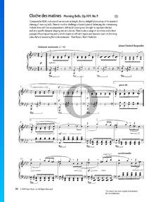 La Cloche des matines (Morning Bells), Op.109 No.9