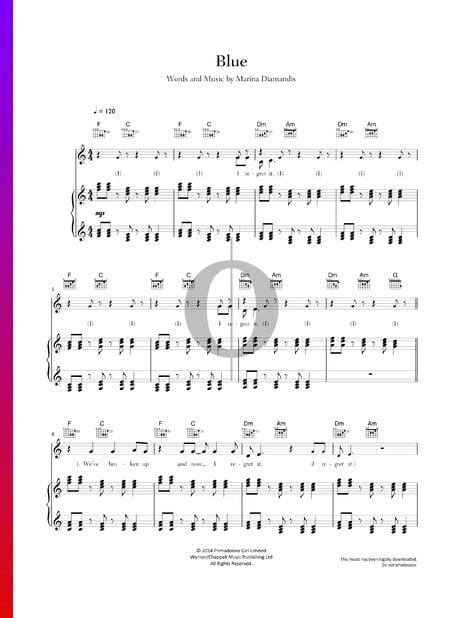 Blue Musik-Noten
