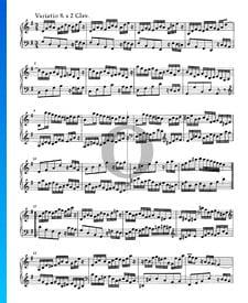 Goldberg Variationen, BWV 988: Variatio 8. a 2 Clav.