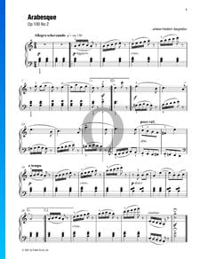 Arabesque, Op. 100 n.º 2