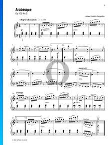 Arabesque, Op. 100 No. 2