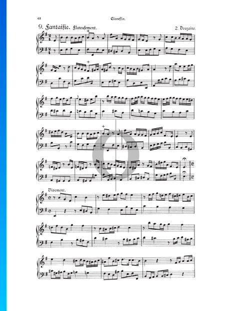 Fantasia, Douzaine II No.9: Flateusement, TWV 33:21 Sheet Music
