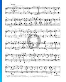 """Sonata quasi una Fantasia (""""Mondscheinsonate""""), Op. 27 No. 2: 2. Allegretto"""