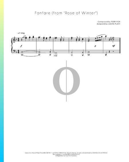 Fanfare (from Rose of Winter) Sheet Music