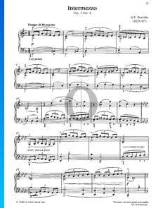 Intermezzo, Op. 1 No. 2
