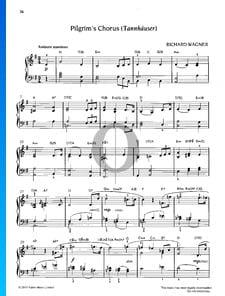 Coro de los Peregrinos, WWV 70