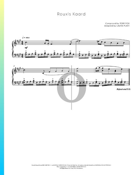 Rouxls Kaard Musik-Noten