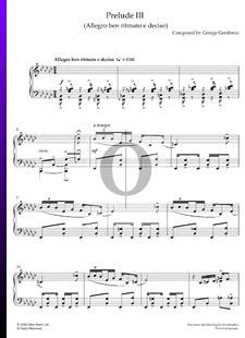 Prelude III (Allegro ben ritmato e deciso)