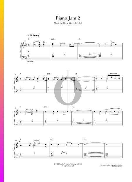 Piano Jam 2 Sheet Music