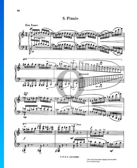 Dance Suite: 5. Finale Partition