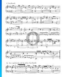 Englische Suite Nr. 3 g-Moll, BWV 808: 4. Sarabande