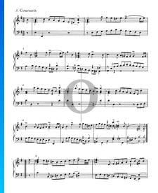 English Suite No. 5 E Minor, BWV 810: 3. Courante