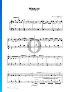 Scherzino, Op. 41 Nr. 2b