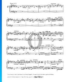 Fugue 8 Ré dièse mineur, BWV 853
