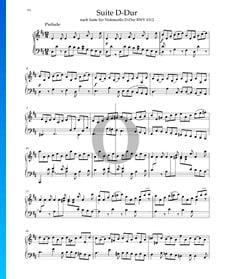 Suite en Ré Majeur, BWV 1012: 1. Prélude