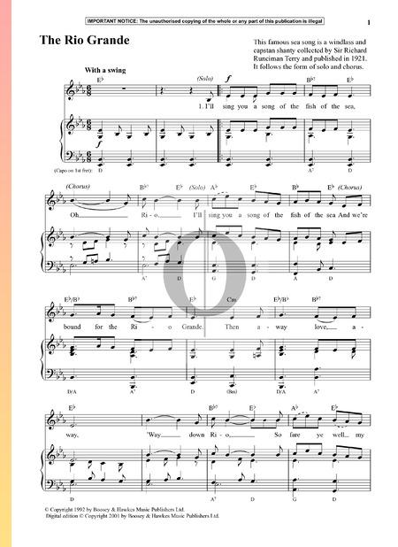 The Rio Grande Sheet Music