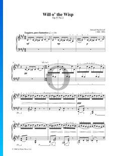 Canción del fuego fatuo, Op. 51 n.º 2