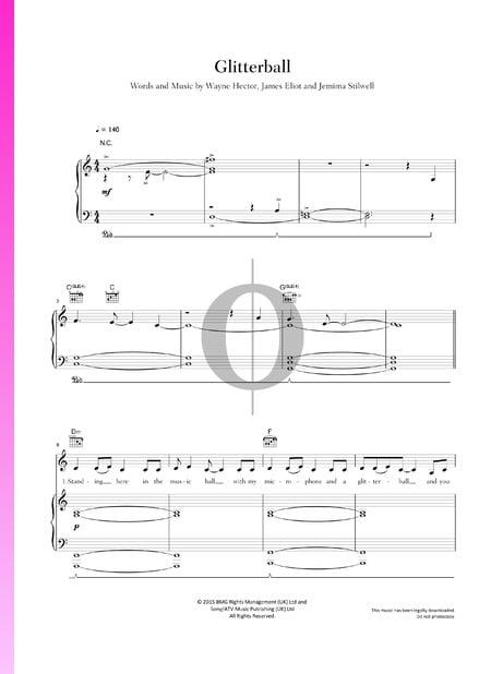 Glitterball Sheet Music