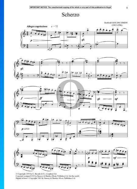 Scherzo Sheet Music