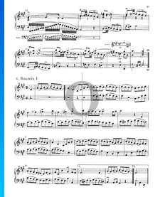 English Suite No. 1 A Major, BWV 806: 6./7. Bourrée I and II