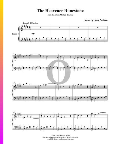 The Heavener Runestone Sheet Music