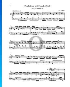 Prelude C Minor, BWV 871