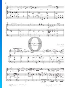 Sonatina in G Major, Op. 100: 2. Larghetto