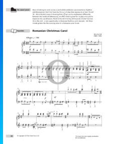 Rumänische Weihnachtslieder, Heft 2, Sz. 57: Nr. 10 Allegro