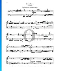 Invention 1a, BWV 772a
