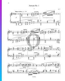 Sonate No. 1 en Fa mineur, Op. 6: 1. Allegro con fuoco