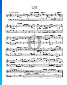 Suite francesa n.º 1 en re menor, BWV 812: 1. Alemanda