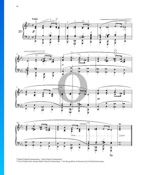 Prelude in C Minor, Op. 28 No. 20 Sheet Music