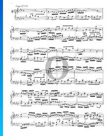 Fugue 17 A-flat Major, BWV 862