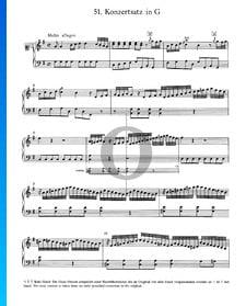 Konzertsatz in G-Dur, Nr. 51
