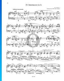 Intermezzo en La Majeur, Op. 118 No. 2