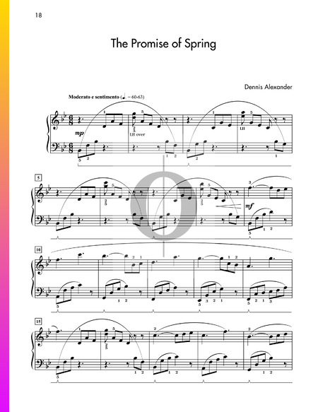 The Promise of Spring Sheet Music