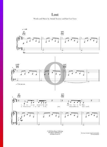 Lost Musik-Noten
